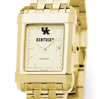 Kentucky Men's Gold Quad with Bracelet