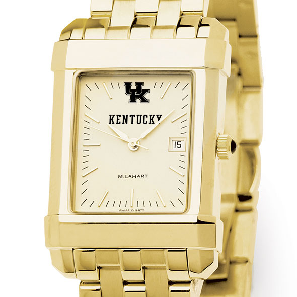 Kentucky Men's Gold Quad with Bracelet