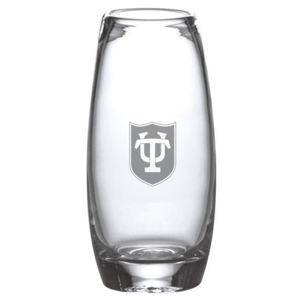 Tulane Glass Addison Vase by Simon Pearce