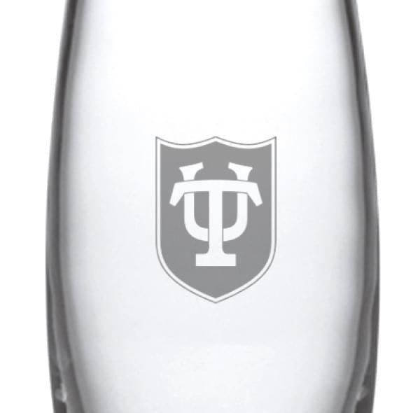 Tulane Glass Addison Vase by Simon Pearce - Image 2