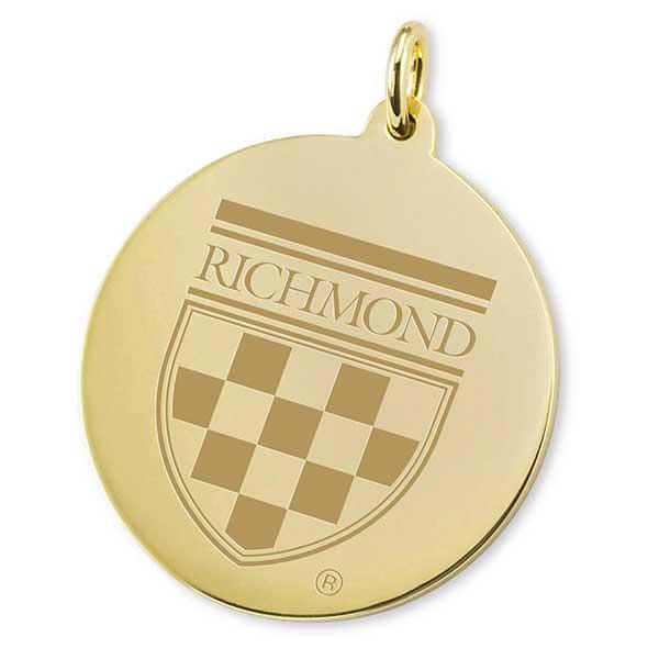 University of Richmond 18K Gold Charm - Image 2