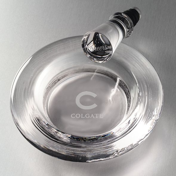 Colgate Glass Wine Coaster by Simon Pearce