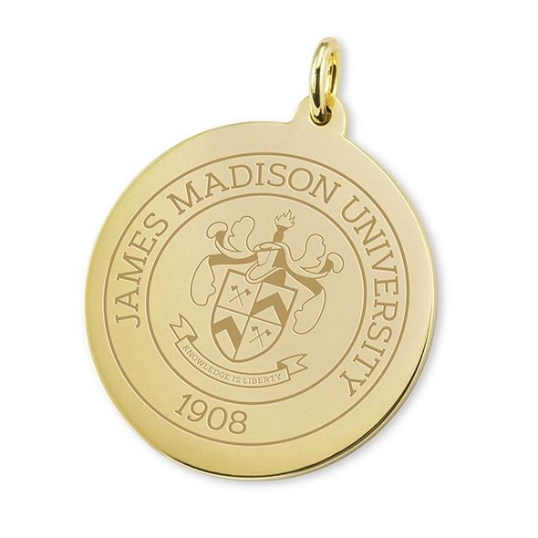 James Madison 14K Gold Charm - Image 1