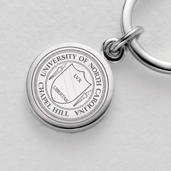 UNC Sterling Silver Insignia Key Ring - Image 2