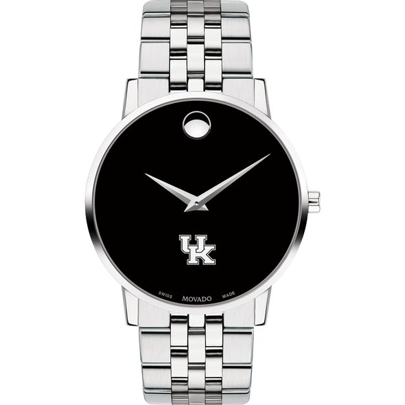 University of Kentucky Men's Movado Museum with Bracelet - Image 2