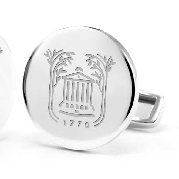 College of Charleston Cufflinks in Sterling Silver - Image 2