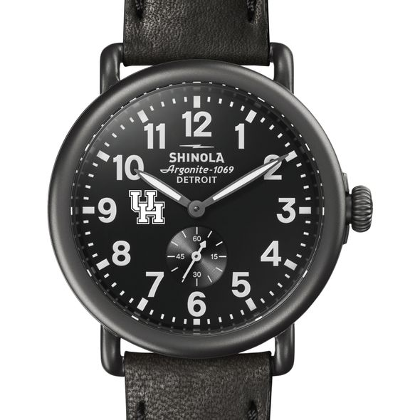 Houston Shinola Watch, The Runwell 41mm Black Dial - Image 1