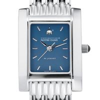 Notre Dame Women's Blue Quad Watch with Bracelet