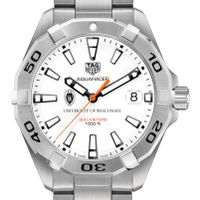 University of Wisconsin Men's TAG Heuer Steel Aquaracer