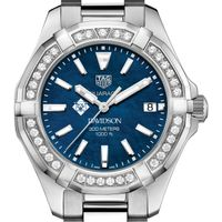 Davidson Women's TAG Heuer 35mm Steel Aquaracer with Blue Dial