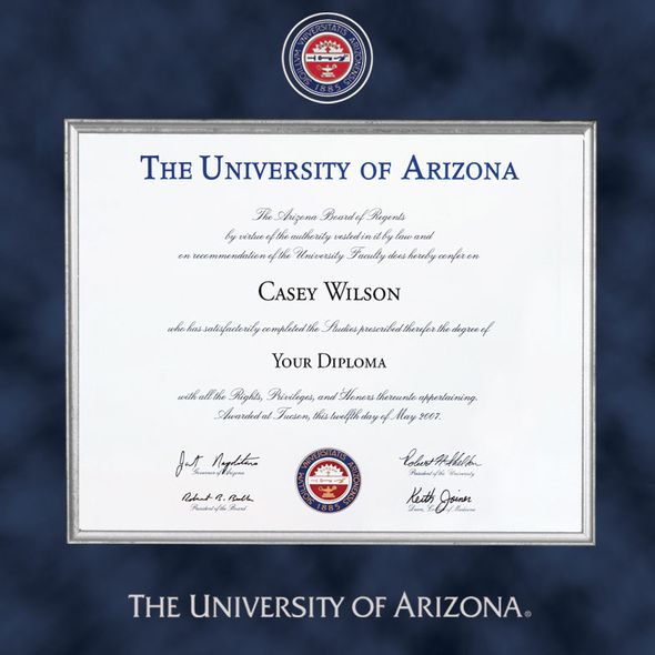 University of Arizona Diploma Frame - Excelsior - Image 2