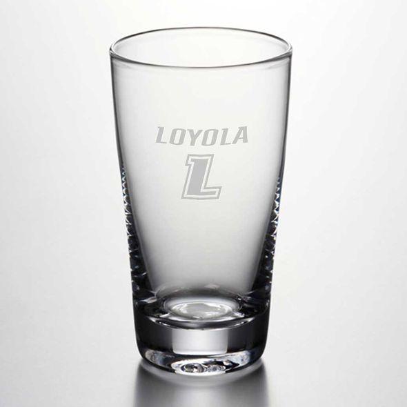Loyola Ascutney Pint Glass by Simon Pearce - Image 1
