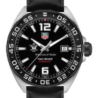 College of William & Mary Men's TAG Heuer Formula 1 with Black Dial