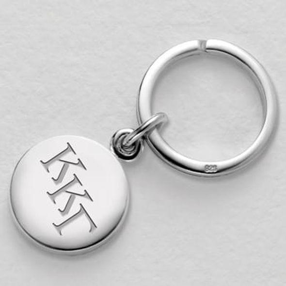 Kappa Kappa Gamma Sterling Silver Insignia Key Ring