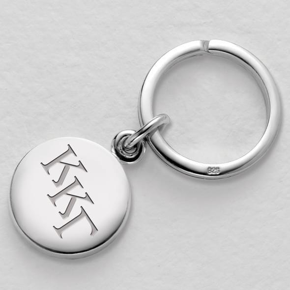 Kappa Kappa Gamma Sterling Silver Insignia Key Ring - Image 2