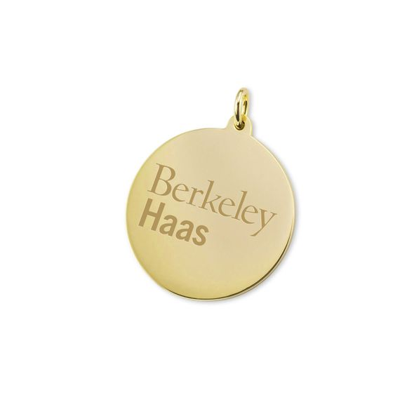 Berkeley Haas 14K Gold Charm