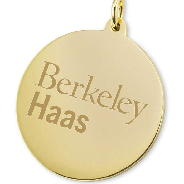 Berkeley Haas 14K Gold Charm - Image 2