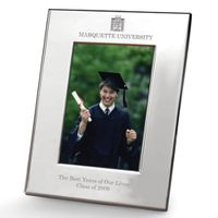 Marquette Polished Pewter 4x6 Picture Frame