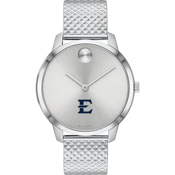 East Tennessee State University Women's Movado Stainless Bold 35 - Image 2