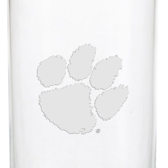 Clemson Iced Beverage Glasses - Set of 2 - Image 3