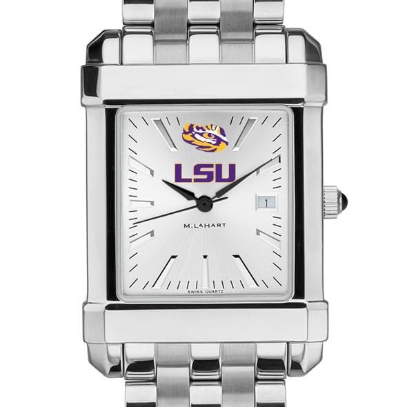 LSU Men's Collegiate Watch w/ Bracelet - Image 1