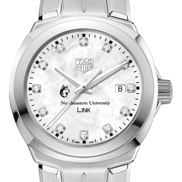 Northeastern TAG Heuer Diamond Dial LINK for Women - Image 1