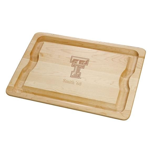 Texas Tech Maple Cutting Board