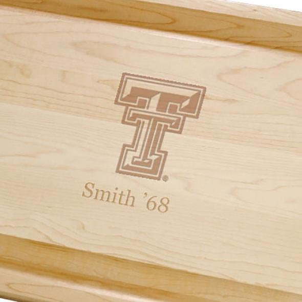 Texas Tech Maple Cutting Board - Image 2