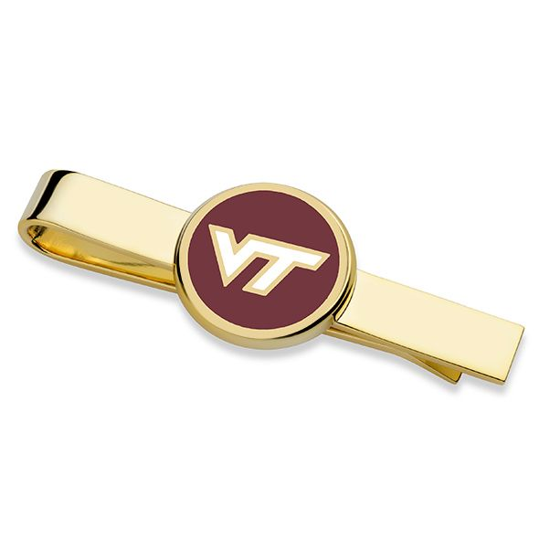 Virginia Tech Tie Clip - Image 1