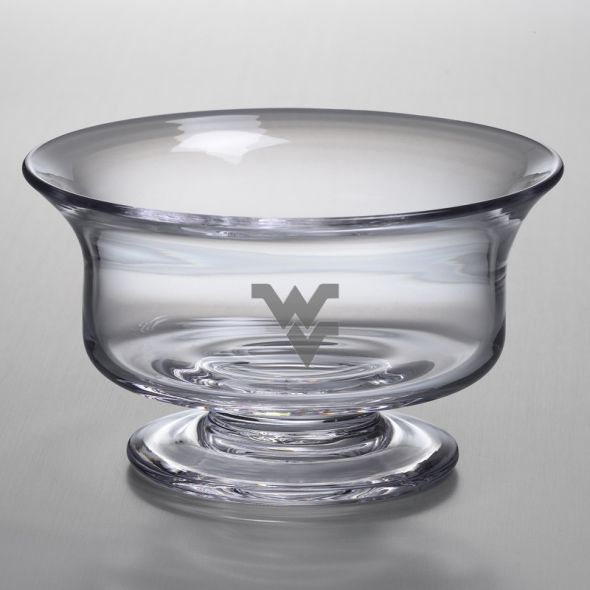 West Virginia University Simon Pearce Glass Revere Bowl Med