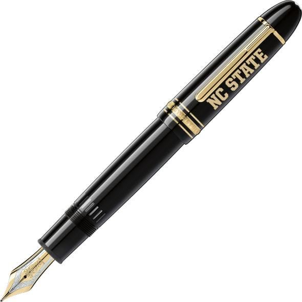 North Carolina State Montblanc Meisterstück 149 Fountain Pen in Gold - Image 1