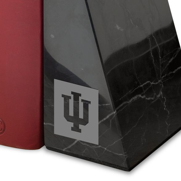 Indiana University Marble Bookends by M.LaHart - Image 2