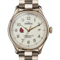 Ball State Shinola Watch, The Vinton 38mm Ivory Dial - Image 1