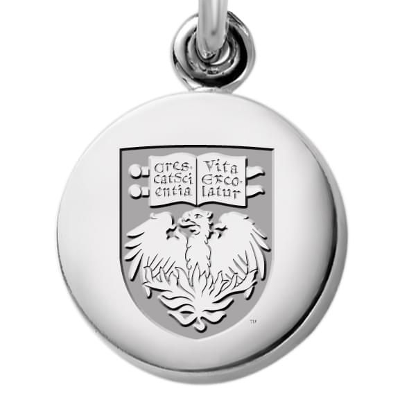 University of Chicago Necklace with Charm in Sterling Silver - Image 2