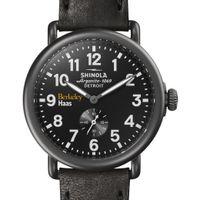 Berkeley Haas Shinola Watch, The Runwell 41mm Black Dial