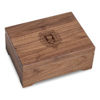 US Naval Academy Solid Walnut Desk Box