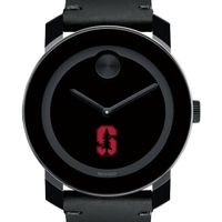 Stanford University Men's Movado BOLD with Leather Strap