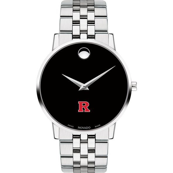 Rutgers University Men's Movado Museum with Bracelet - Image 2