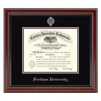 Fordham Diploma Frame, the Fidelitas