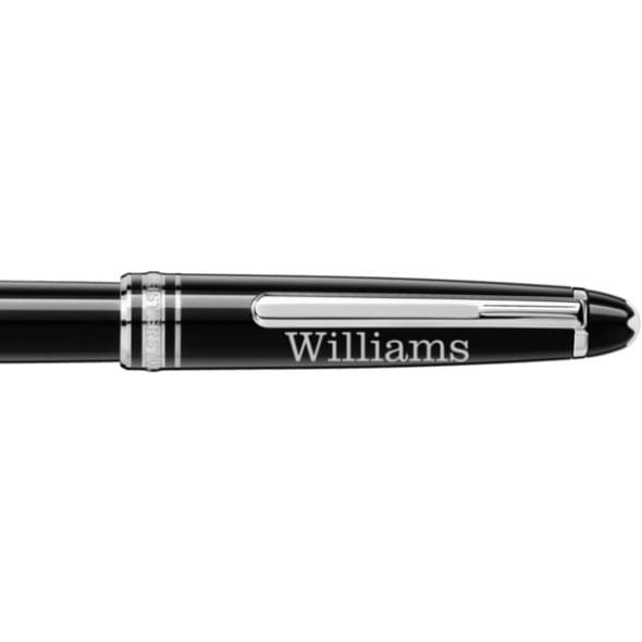 Williams College Montblanc Meisterstück Classique Rollerball Pen in Platinum - Image 2