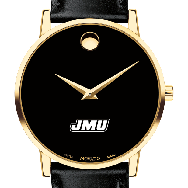James Madison Men's Movado Gold Museum Classic Leather