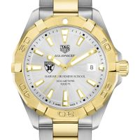 Harvard Business School Men's TAG Heuer Two-Tone Aquaracer