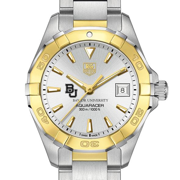 Baylor University Women S Tag Heuer Two Tone Aquaracer At