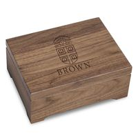 Brown University Solid Walnut Desk Box