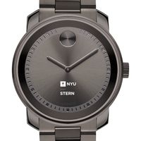NYU Stern Men's Movado BOLD Gunmetal Grey