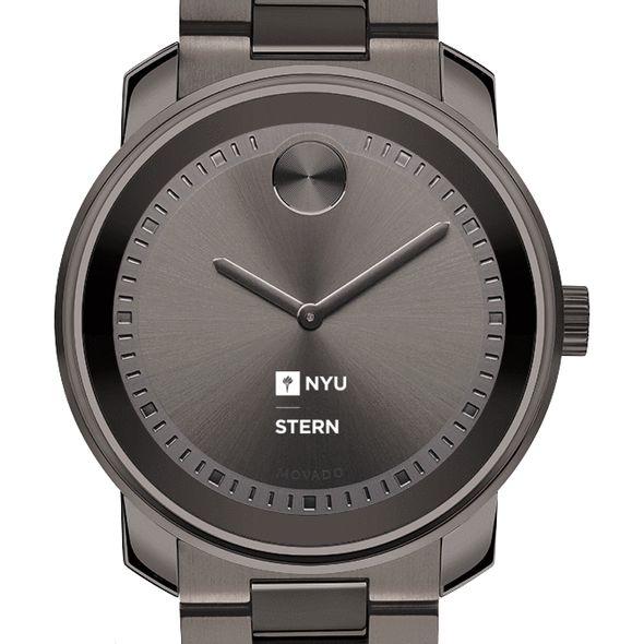 NYU Stern Men's Movado BOLD Gunmetal Grey - Image 1