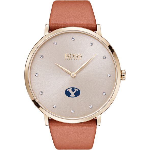 Brigham Young University Women's BOSS Champagne with Leather from M.LaHart - Image 2