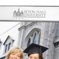 Seton Hall Polished Pewter 8x10 Picture Frame - Image 2