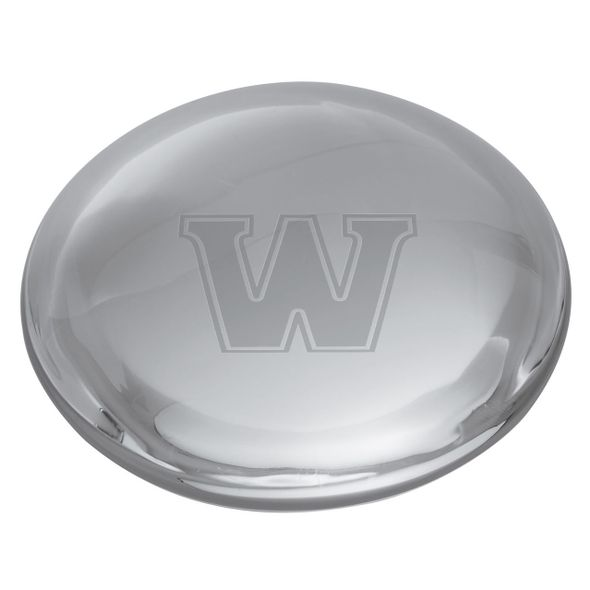 Williams Glass Dome Paperweight by Simon Pearce - Image 2