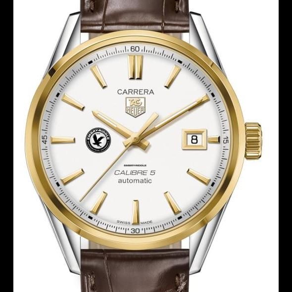 Embry-Riddle Men's TAG Heuer Two-Tone Carrera with Strap